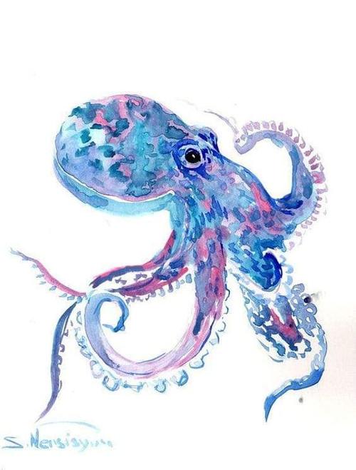 5D Diamond Painting Abstract Octopus Kit