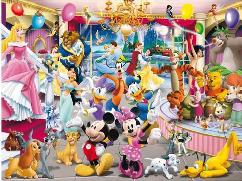 5D Diamond Painting Disney Character Party Kit