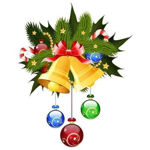 5D Diamond Painting Christmas Ornaments Bell Kit