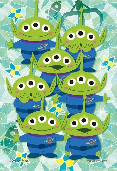 5D Diamond Painting Aliens From Toy Story Kit