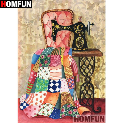 5D Diamond Painting Quilt Sewing Kit