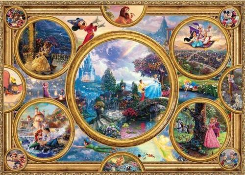 5D Diamond Painting Disney Princess Circle Collage Kit