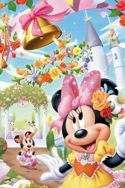 5D Diamond Painting Minnie Flower Bell Kit