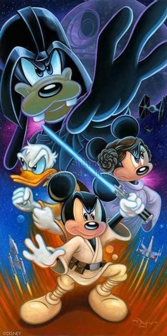 5D Diamond Painting Star Wars Mickey Mouse Kit