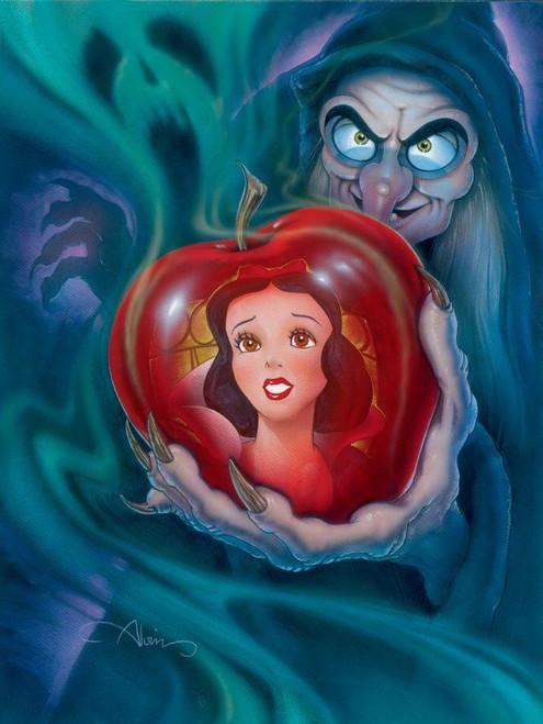 5D Diamond Painting Snow White Poison Apple Kit