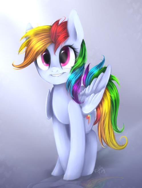 5D Diamond Painting Rainbow Dash