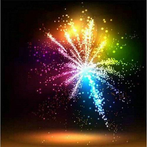 5D Diamond Painting Fireworks Burst Kit