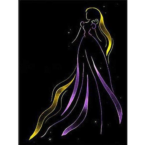5D Diamond Painting Rapunzel Light Princess Kit