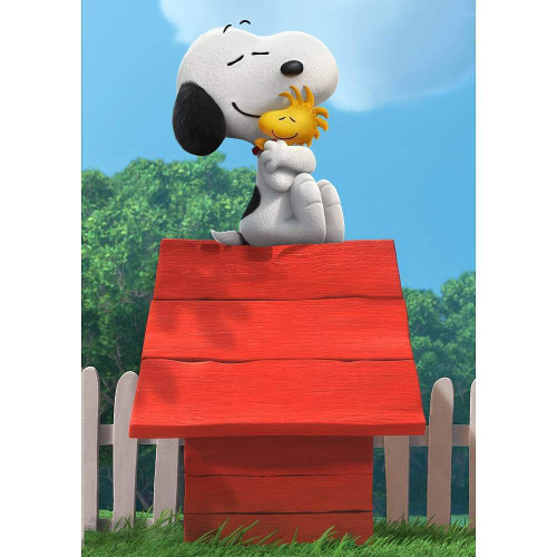 5D Diamond Painting Woodstock and Snoopy Dog House Kit