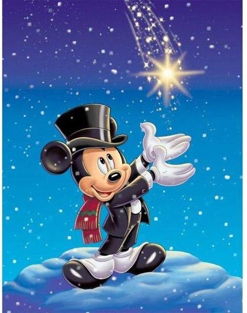 5D Diamond Painting Mickey Star Kit