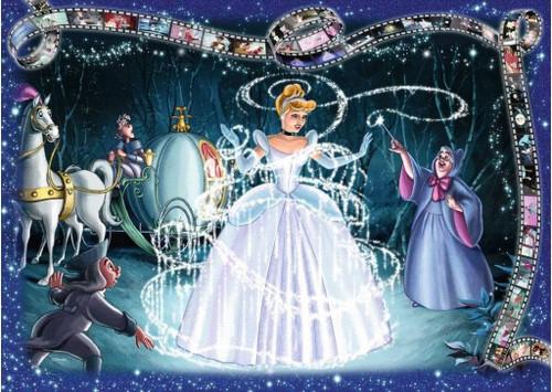 5D Diamond Painting Cinderella Movie Clip Kit
