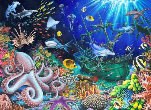 5D Diamond Painting Deep Sea Life Kit