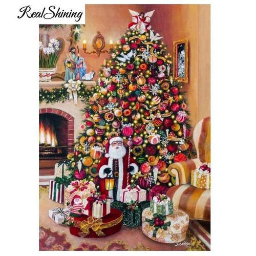 5D Diamond Painting Angel Topped Christmas Tree Kit