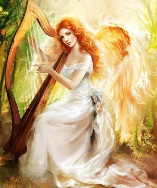 5D Diamond Painting Angel's Harp Kit
