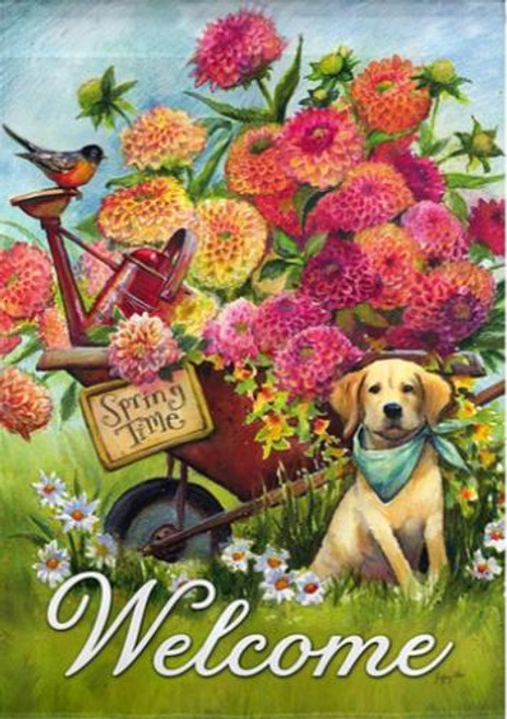 5D Diamond Painting Spring Time Welcome Kit