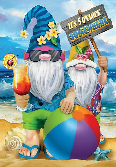 5D Diamond Painting Gnomes on Vacation Kit