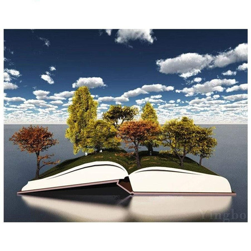 5D Diamond Painting Book of Trees Kit