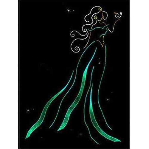 5D Diamond Painting Jasmine Light Princess Kit
