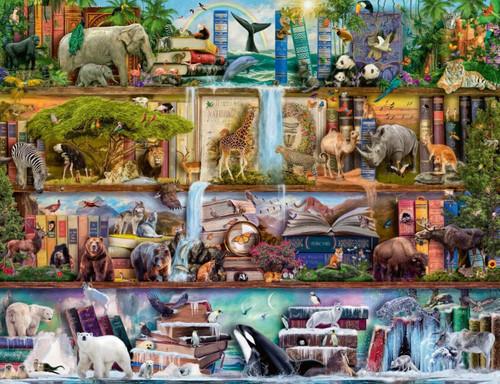 5D Diamond Painting Wildlife Books Kit