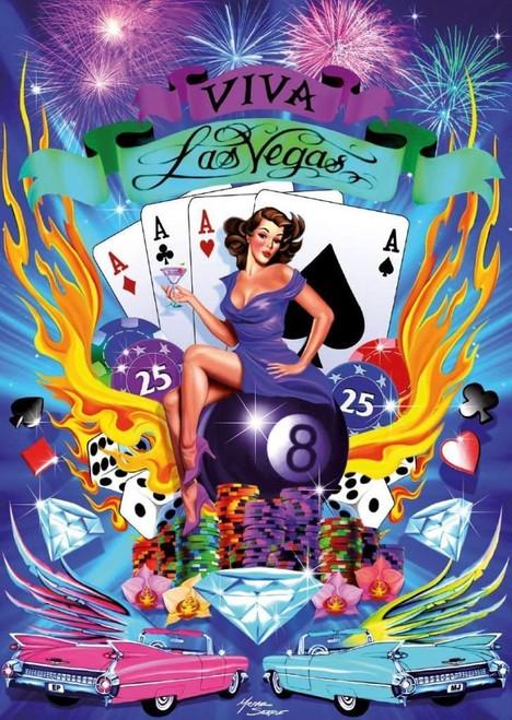 5D Diamond Painting Viva Las Vegas Kit