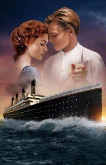 5D Diamond Painting Rose & Jack Titanic Kit