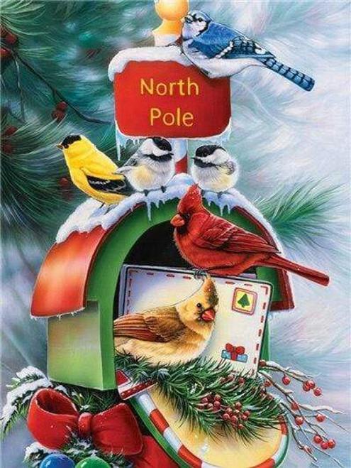 5D Diamond Painting North Pole Mailbox Kit