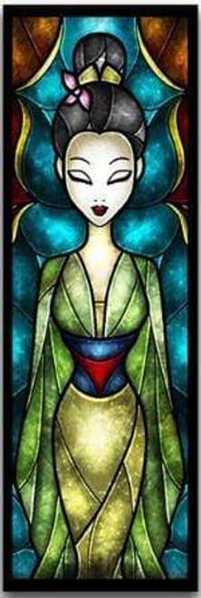 5D Diamond Painting Abstract Mulan Kit