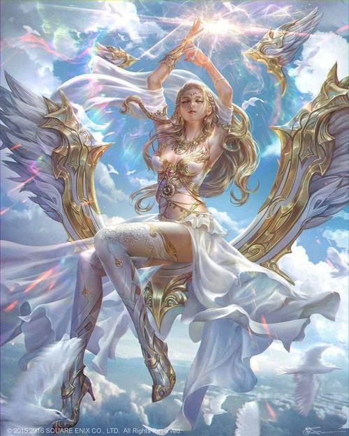 5D Diamond Painting Gold and White Princess Kit