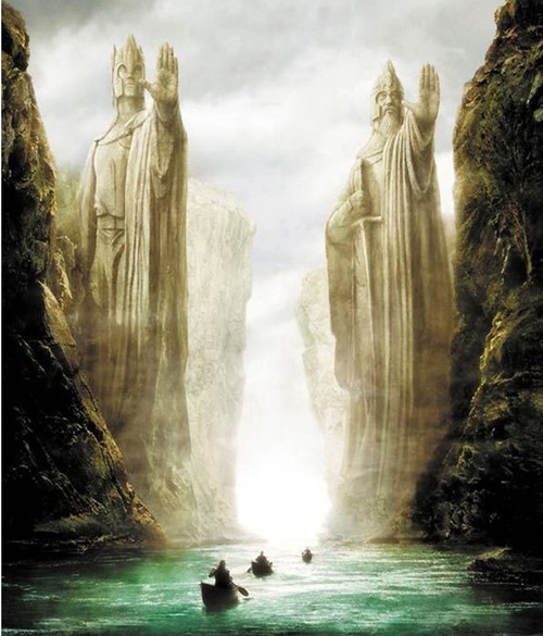 5D Diamond Painting Lord of the Rings River Voyage Kit