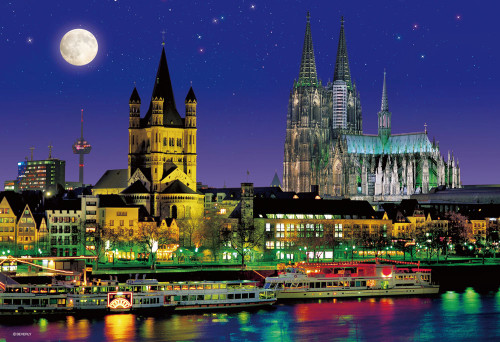 5D Diamond Painting Cologne Cathedral in Germany Kit