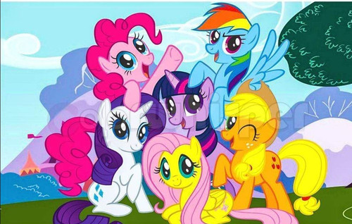 5D Diamond Painting Six My Little Pony Friends Kit