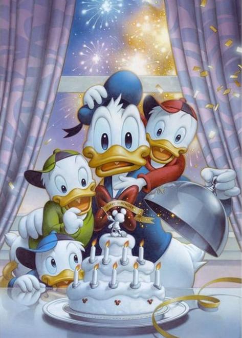 5D Diamond Painting Happy Birthday Donald Kit