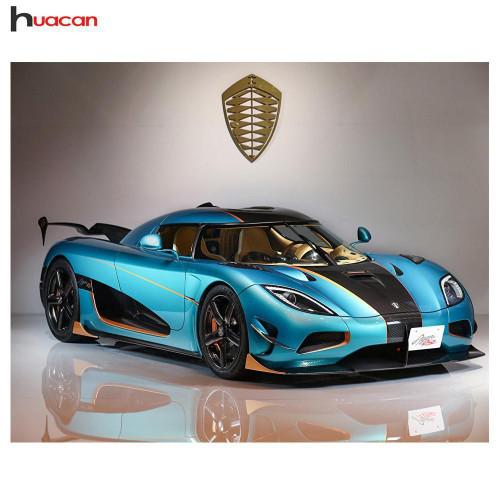 5D Diamond Painting Fast Cars Kit