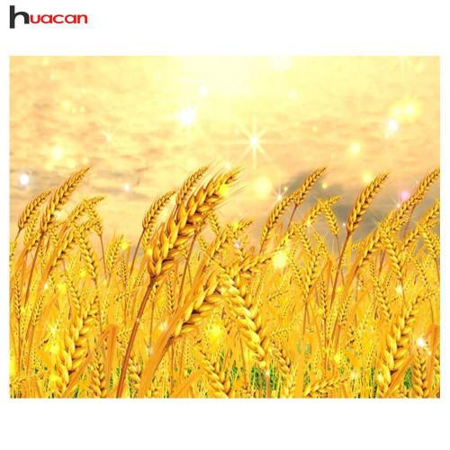 5D Diamond Painting Field of Golden Wheat Kit