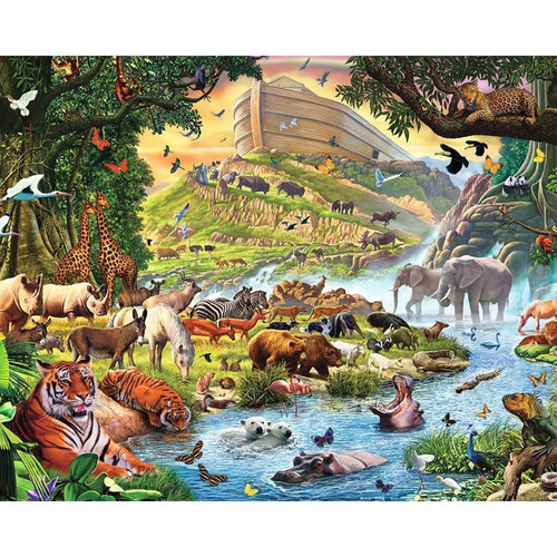5D Diamond Painting Noah's Ark Kit