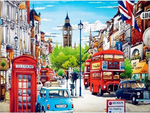 5D Diamond Painting London City Scene Kit