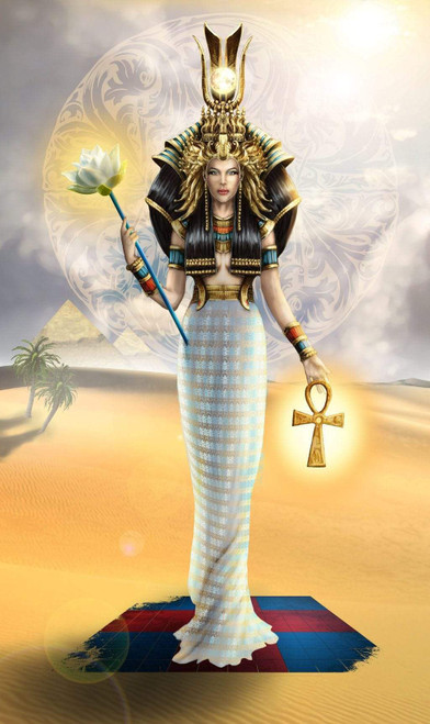 5D Diamond Painting Egyptian Crowned Queen Kit