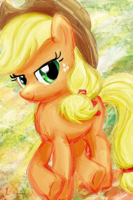 5D Diamond Painting My Little Pony AppleJack Water Color Kit
