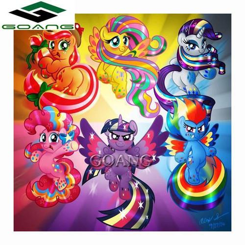 5D Diamond Painting My Little Pony Princess Power Kit