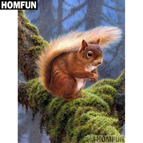5D Diamond Painting Squirrel Kit