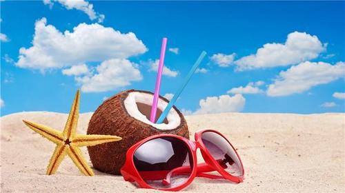 5D Diamond Painting Coconut Beach Life Kit