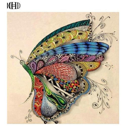 5D Diamond Painting Pattern Butterfly Kit