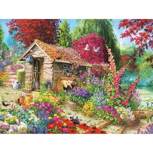 5D Diamond Painting Garden Shed Kit