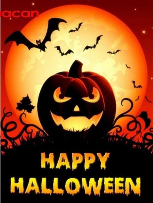 5D Diamond Painting Happy Halloween Bats Kit