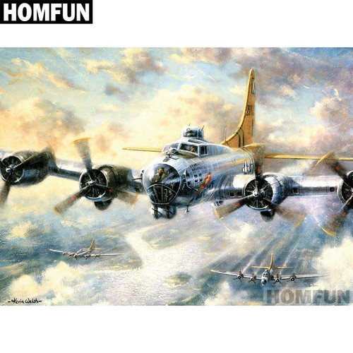 5D Diamond Painting Planes in the Sky Kit