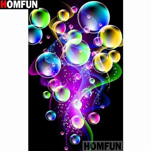 5D Diamond Painting Floating Bubbles Kit