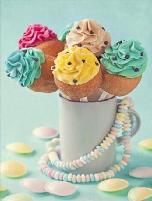 5D Diamond Painting Cake Pops and Sweet Tarts Kit