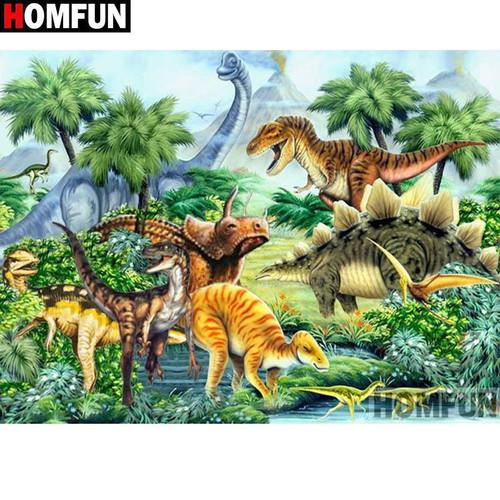 5D Diamond Painting Dinosaur World Kit