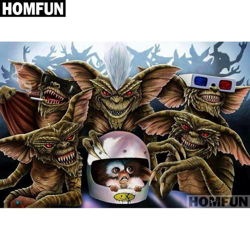 5D Diamond Painting Gizmo and the Gremlins Kit
