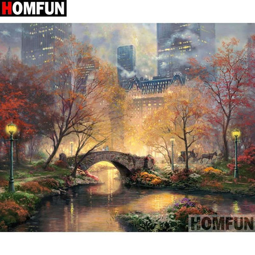 5D Diamond Painting Central Park in New York Kit
